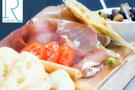 Rockwell Bar  - Spanish Sharing Platter with Glass of Cava Each for Two - Save 53%