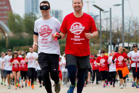 The Royal London Society   - Entry for One Pair for 5k Blindfold Run on September 20  - Save 50%