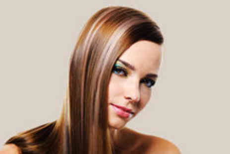 Celebrity Styles Hair and Beauty Salon - Full head of highlights or lowlights, a cut and blow dry - Save 79%