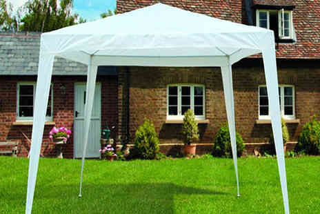 All Boxed Up - White Garden Gazebo - Save 63%