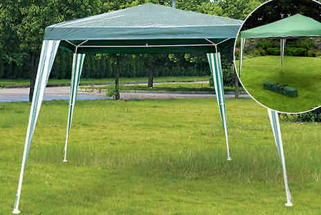 All Boxed Up - Green Garden Gazebo - Save 70%