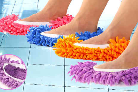Divinity Fashion - Microfibre Mop Slippers - Save 80%