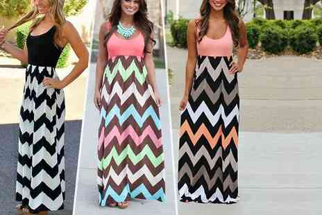 LOVE TTI - Stylish summer maxi dress  - Save 71%