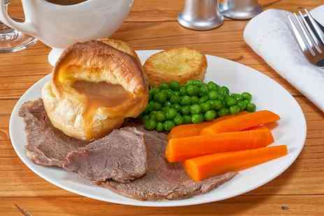 Black Horse Inn - Two Course Sunday Roast For Two  - Save 47%