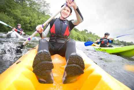 Bala Adventure and Watersports Centre - Half Day Kayaking or Canoeing Experience For Two,  - Save 74%