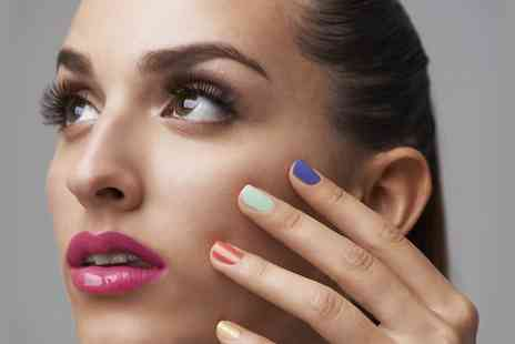 Fusion Hair and Beauty - File and Polish for Hands and Feet - Save 50%
