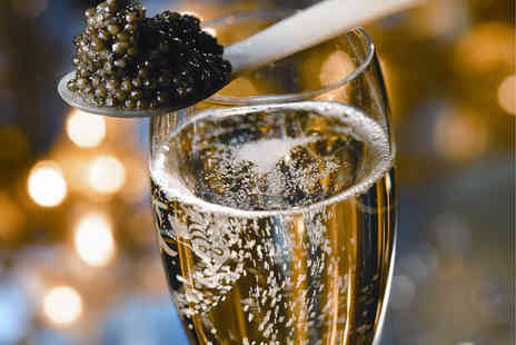 Caviar House & Prunier - Caviar Afternoon Tea with Champagne for Two   - Save 42%