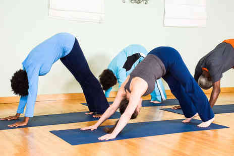Om Yoga Studio - Five Consectutive Yoga Classes - Save 57%