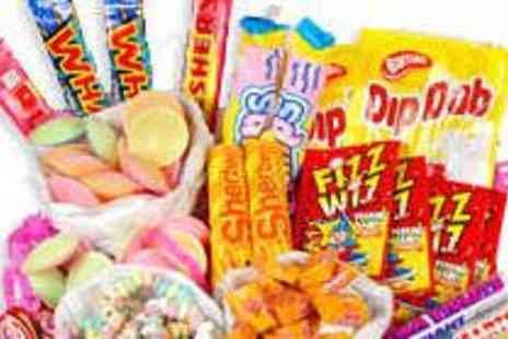 Treasure Island Sweets - Retro Sweet Hamper or Five Quarters of Sweets - Save 53%