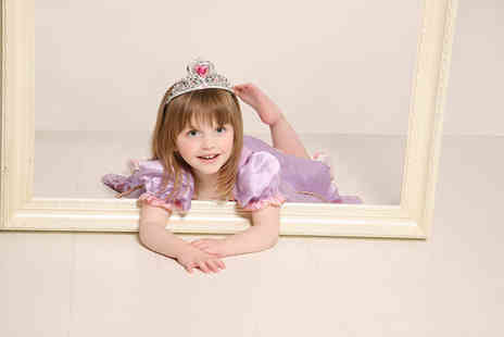 Studio 56 Photography - Kids little princess photoshoot for one including three prints  - Save 89%