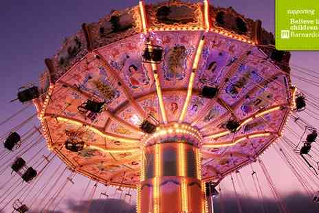 Funairs Finsbury Park Fair - Entry to Finsbury Park Fun fair and 15 Ride Tokens For One - Save 0%