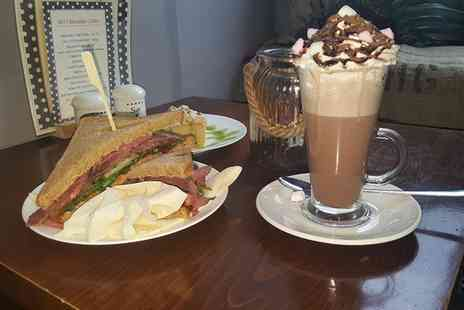 No71 Coffee House - Cake or Sandwich With Hot Drink For Two - Save 76%