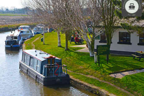 Lancashire Canal Cruises - Canal Cruise for Two with Bucks Fizz Breakfast - Save 55%