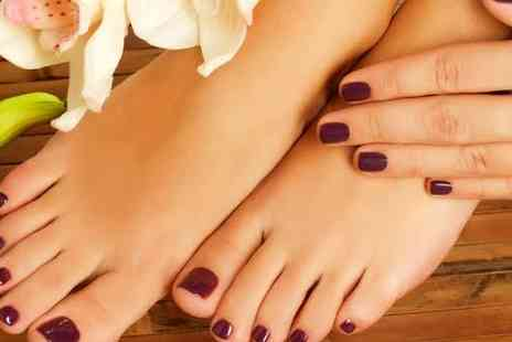 Talk of the town - Choice of manicure or pedicure treatment  - Save 50%