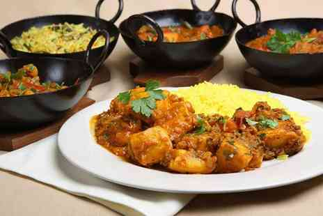 Chutney - Indian meal for two including a rice each  - Save 31%