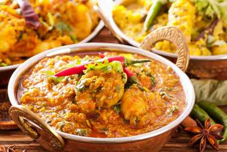 Chillies Indian Restaurant - Two Course Indian Meal With Rice For Two - Save 64%