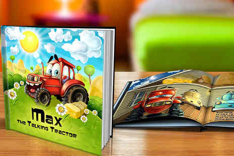 Dinkleboo - Personalised Hardback Kids Story Book - Save 62%