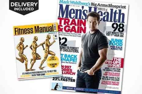 Mens Health -  12 Issue Mens Health Magazine Subscription, Delivery Included - Save 57%