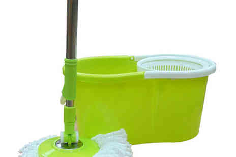 3c Distributors  - Easy Clean 360 Degree Spin Mop - Save 47%