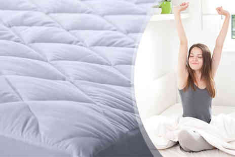 Your Essential Store - Luxury Quilted Microfiber Mattress & Pillow Protectors - Save 70%