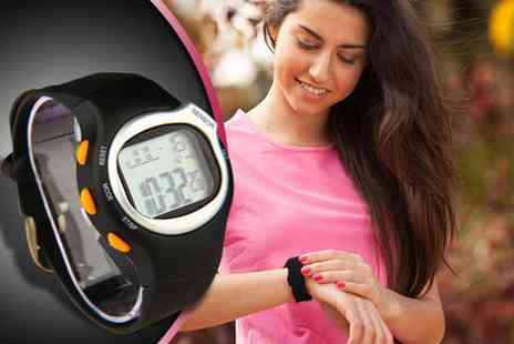121 Mart - Six in one sports watch with heart rate monitor - Save 82%
