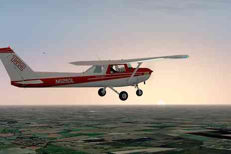 Simulation Flying - One  Hours of Flight Simulation - Save 35%