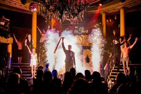 Cafe De Paris -  Cabaret Experience With Two Course Meal, Cocktail and Club Entry, Piccadilly Circus - Save 41%