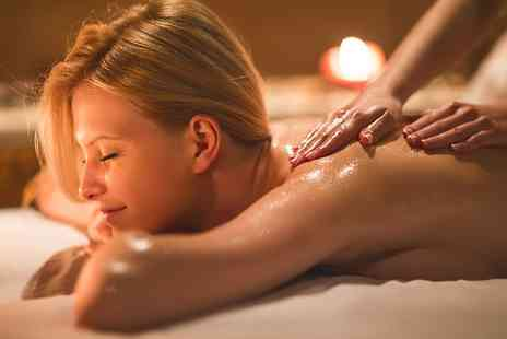 Angel Sourced Holistics - 30 Minute Deep Tissue Massage  with 30 Minute Reflexology Session  - Save 53%