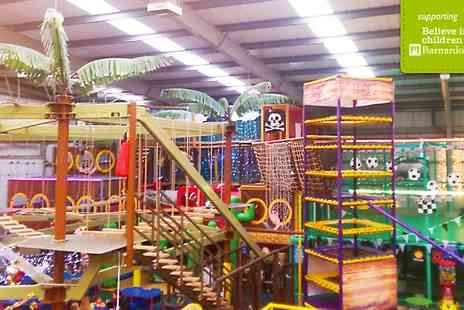 Mister Twisters - Soft Play with High Ropes for Four   - Save 66%