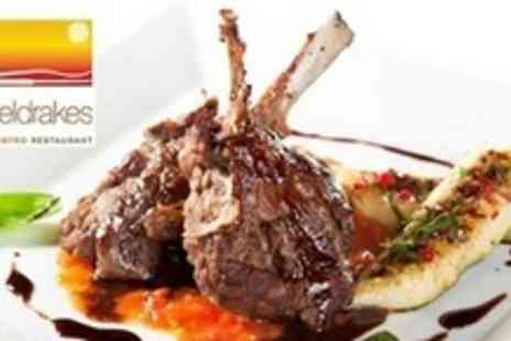 Sheldrakes - Three Courses of Modern European Fare For Two - Save 53%