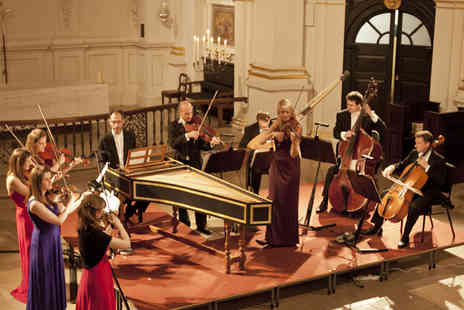 London Concertante - Tickets to Vivaldi and Bach Concertos by Candlelight  - Save 49%