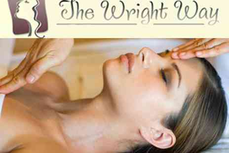 The Wright Way - £15 for 75 min Dermalogica Facial with Scalp & Hand Massage  - Save 73%