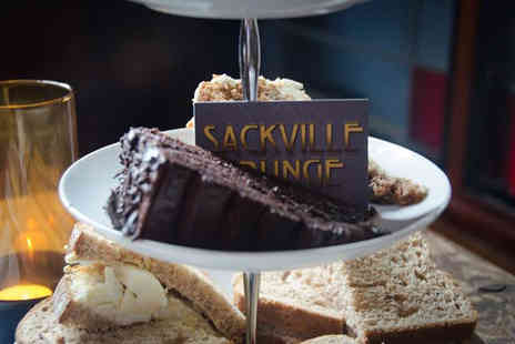 Sackville Lounge - Luxury Prosecco afternoon tea for two - Save 47%