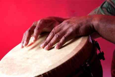 London African Drumming - Two hour African drumming sessions - Save 55%