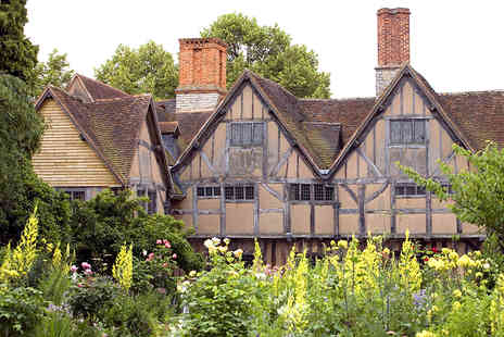 Shakespeare Birthplace Trust - Annual Admission to Shakespeares Family Homes for Two - Save 44%
