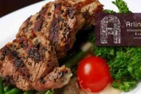 Arlingtons Brasserie Restaurant - Three Courses of Modern European Fare For Four - Save 64%