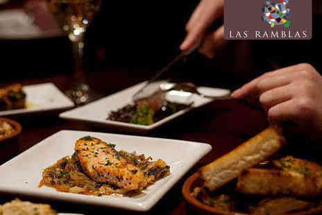 Las Ramblas - Six Tapas Dishes to Share Between Two   - Save 47%