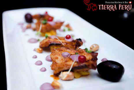 Tierra Peru - Seven Dish Flavours of Peru Tasting Platter for Two  - Save 50%