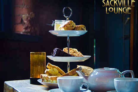 Sackville Lounge - Afternoon Tea for Two  - Save 53%