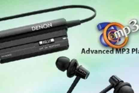 Advanced MP3 Players - Denon Active Noise Cancelling Earphones - Save 56%