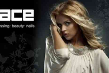 The Face - Full Head of Highlights or Full Head of Colour Plus Cut, Conditioning Treatment - Save 77%