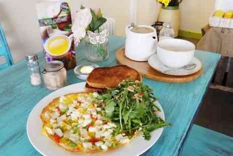 The Wellness Cafe - Healthy Breakfast With Hot Drinks For Two  - Save 0%