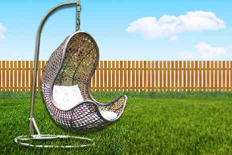 Fishoom - Rattan Hanging Egg Chair - Save 67%