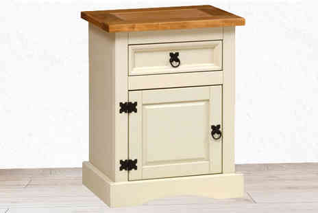 Brown Source - Corona Bedside Cabinet - Save 56%