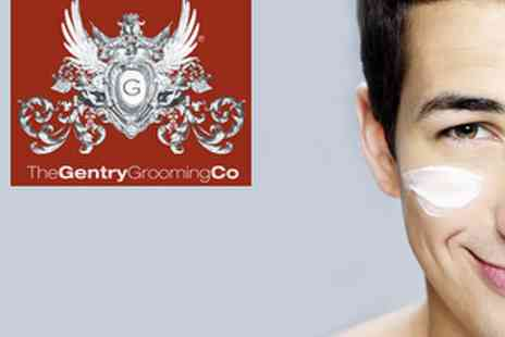 The Gentry Grooming Shave Centre - £25 Traditional Cut Throat Shave and Facial - Save 55%