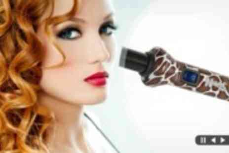 HSNF  - Naked Hair Ceramic Curling Wands - Save 90%