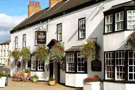 Best Western Crown Hotel - Overnight  North Yorkshire Coaching nn Stay with Dinner - Save 38%