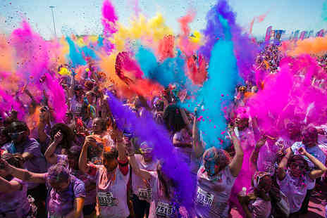 Run or Dye - Entry to the Run or Dye 5K colour run  - Save 33%