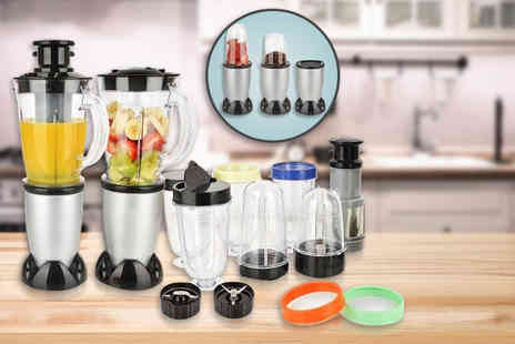 Product Mania -  21 piece 250W Vortex blender set  - Save 71%