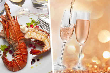 Hamiltons Cafe - Two whole lobster each for two including fries, salad and a glass of Prosecco each   - Save 50%